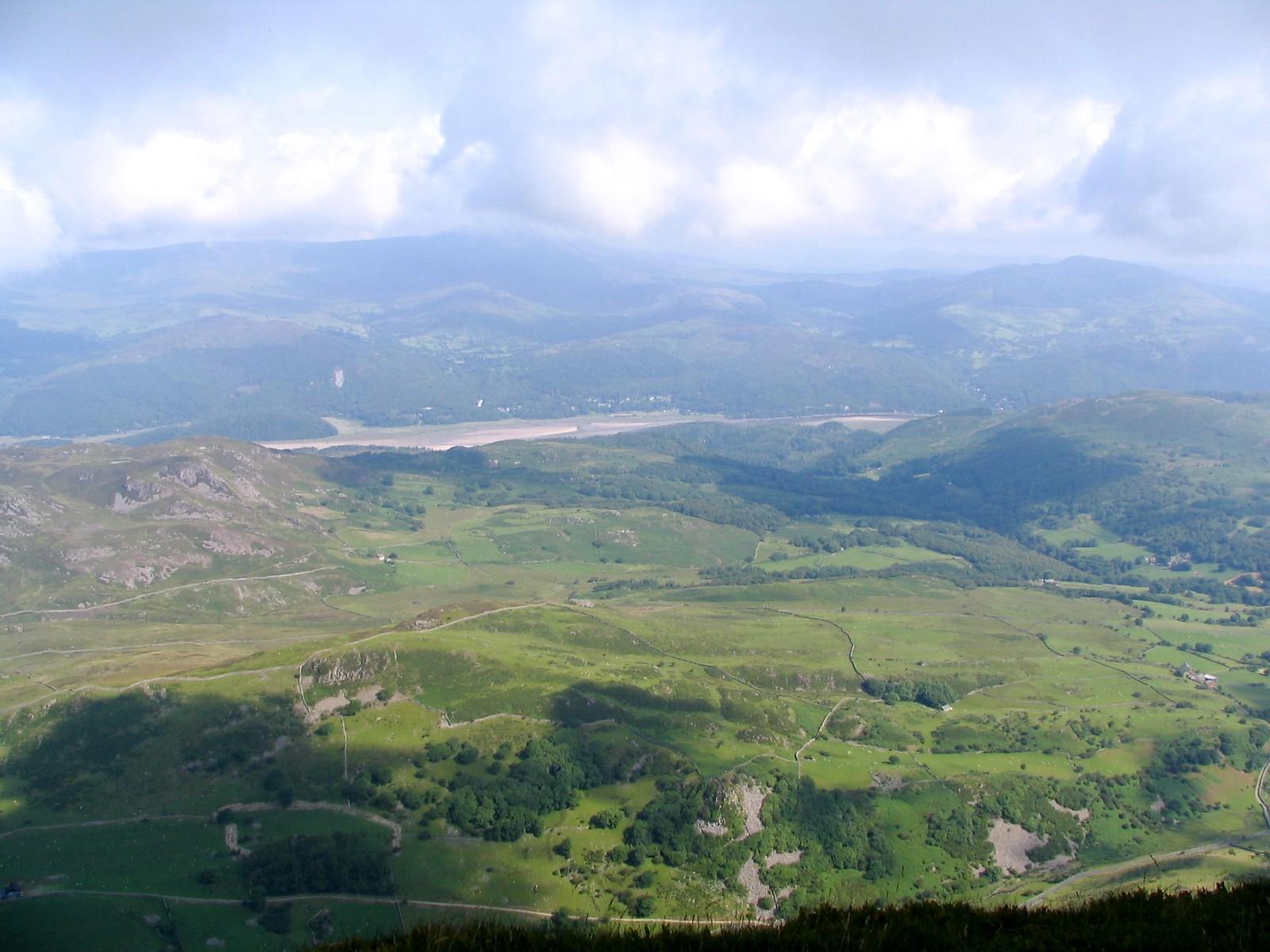 Foothills of Cader