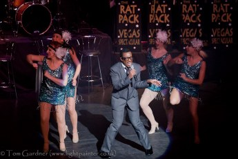 """Sammy Davis Junior"" and dancers"