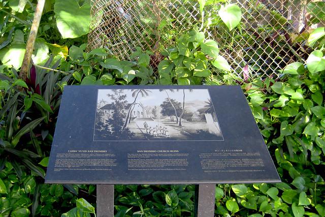 Old San Dionisio Signage