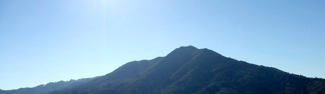 Panorama of Mt. Tamalpais