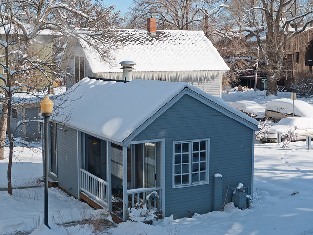 Outbuilding Roof Insulation and Snow