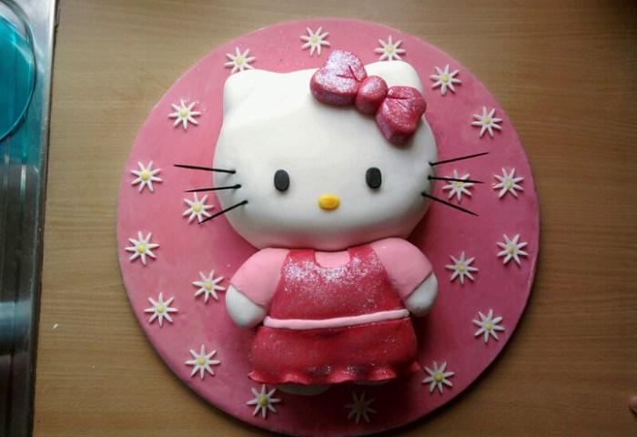 Hello Kitty Birthday Cake Dawn Harman Flickr