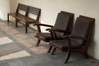 Militärmuseum Stühle