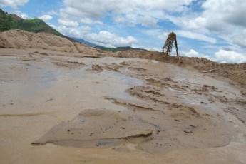 Sand-Anlandung