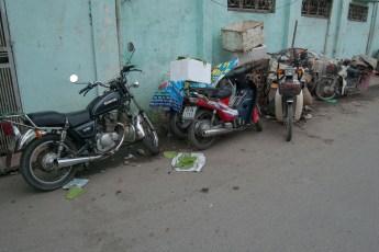 Straßenmarkt Nähe Tay Son 7