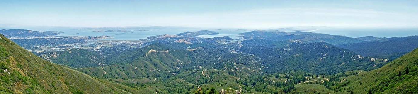 Bay Area Panorama (Mt. Tam)