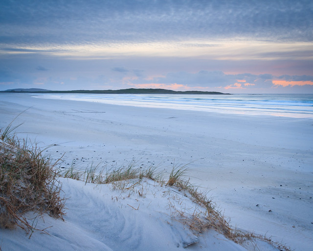 Dusk at Sollas, North Uist