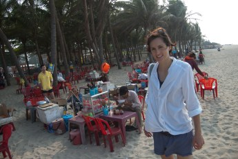 Garküche am Strand