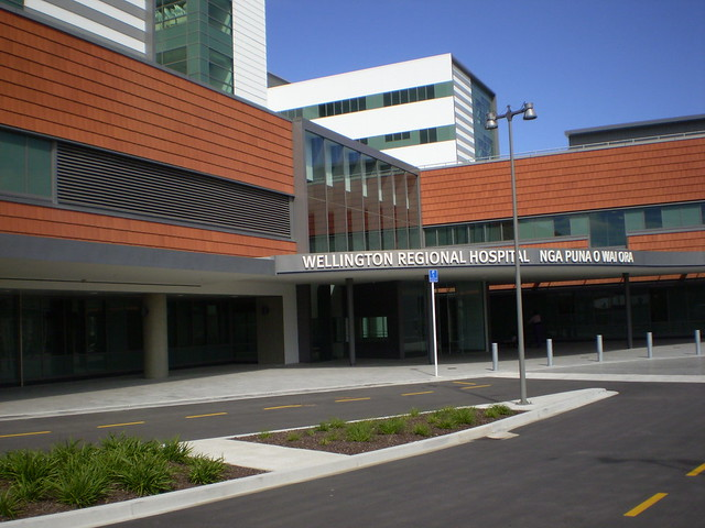 Wellington Hospital, New Zealand