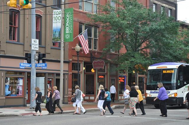 Kalamazoo is a Walkable Community Photo by Michigan Municipal League