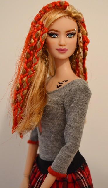 Rumor- Tris Divergent Barbie Repaint OOAK by Doll Anatomy ...