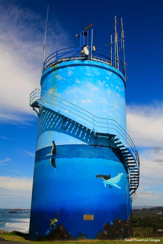 Humpback Whale Migration Mural - Woolgoolga Water Tower Hi… | Flickr