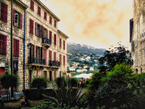 French Terrace - Vence - 2006