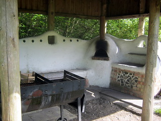 Pizza Oven at Camping at The Sustainability Centre on the South Downs Way