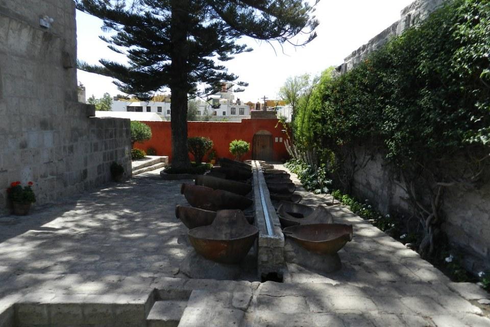 Arequipa lavanderia patio Convento de Santa Catalina Perú 16