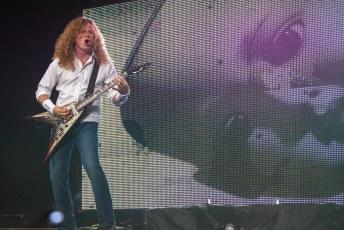 Photos | Megadeth @ Abbotsford Entertainment & Sports Centre – July 29th 2013