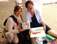 Watercolor Painting Workshop in Spain with www.frenchescapade.com