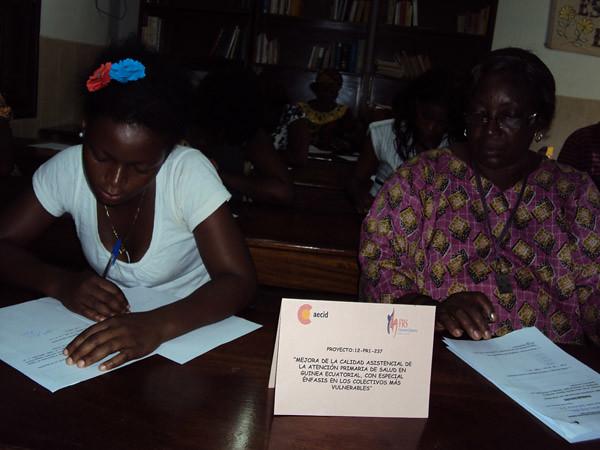 Guinea E. Formación de Animadores Socio-Sanitarios Urbanos.