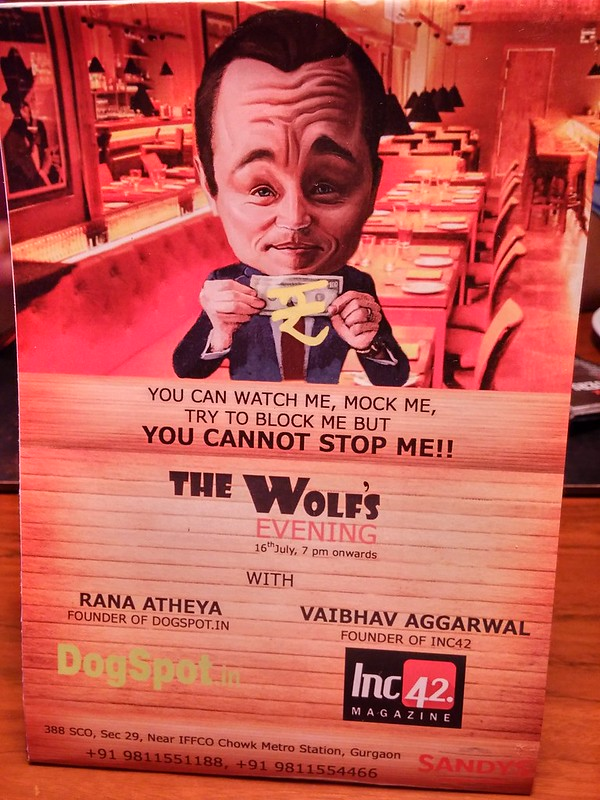 #The Wolf's Eve @ Sandy's.