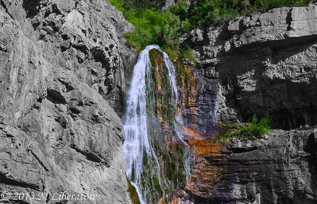 Bridal Veil Falls - Utah
