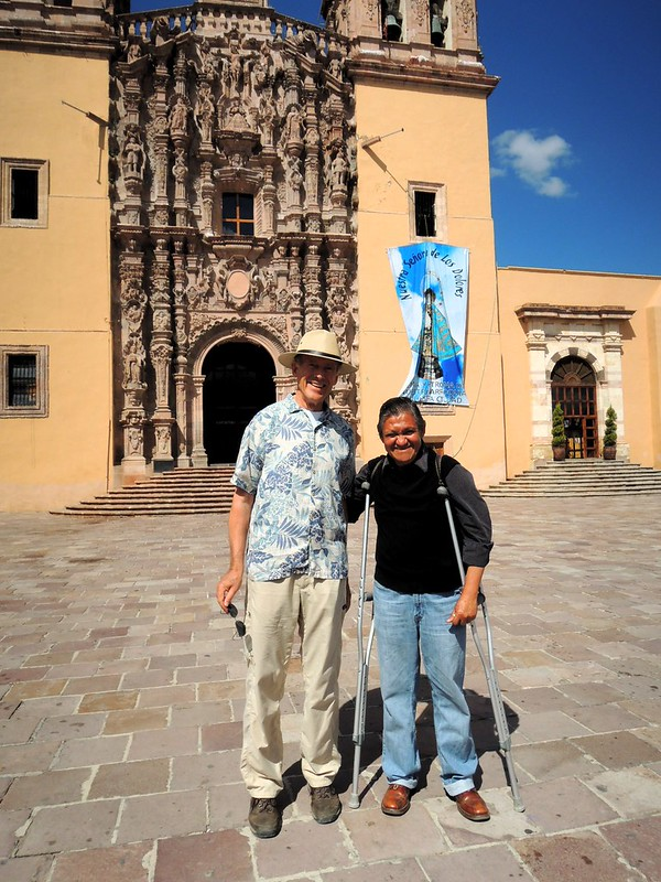 Dad and Juan José, our guide for a bit of independence history by bryandkeith on flickr