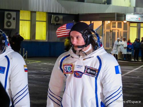 Thomas Pesquet avant son lancement au MIK 112
