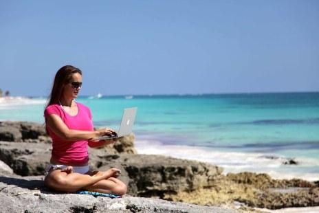 Photoshoot Digital Yoga Nomadz & Beach Workout