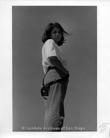 1992 - Photo shoot in Madre Grande: