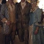 Viajefilos en el Carnaval de Venecia, cena de carnaval 12