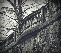 Un balcone in autunno
