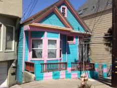 Maison victorienne  lors de la visite privée de San Francisco avec www.frenchescapade.com