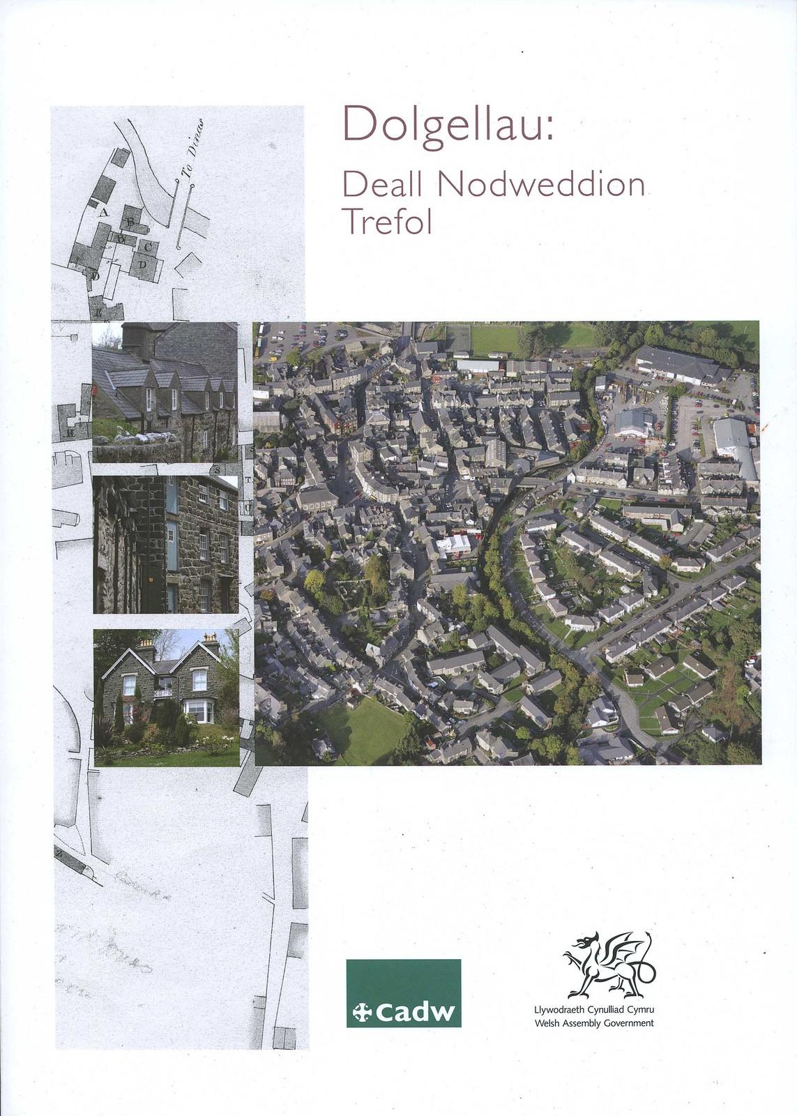 Dolgellau: Deall Nodweddion Trefol (Welsh Cover Side) 2009