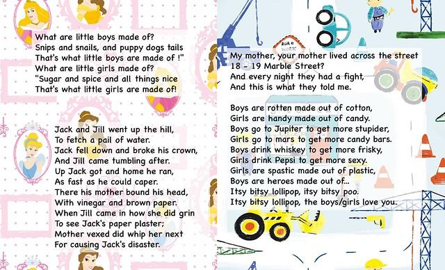 gendered rhymes