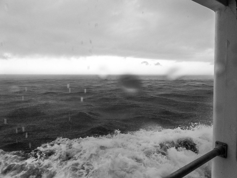 stormy crossing to Monhegan Island, Maine, aboard the Elizabeth Anne, Lumix FZ200, 8.6.14