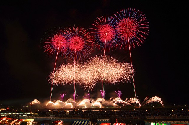 """第88回全国花火競技大会「大曲の花火」 The 88th All Japan Fireworks Festival """"Fireworks in Omagari"""""""