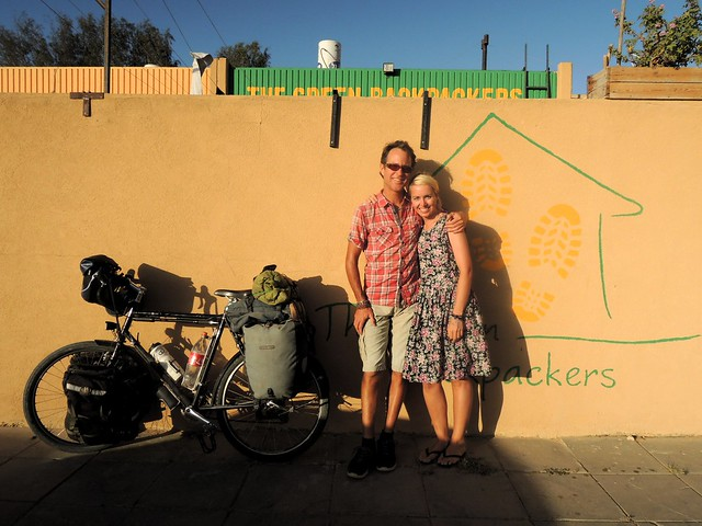 Bryan and Zoey, an Australian volunteering for a few weeks at the hostel by bryandkeith on flickr