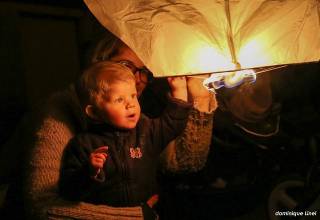 aout 2014 : les veillées et l'envol des lanternes