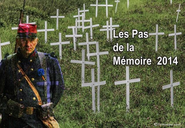 Aout 2014 : les Pas de la Mémoire