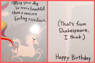 Unicorn Birthday Wishes I Love The Birthday Cards That Peo Flickr