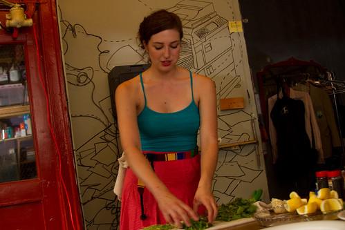 Lead chef Carina Kaufman!