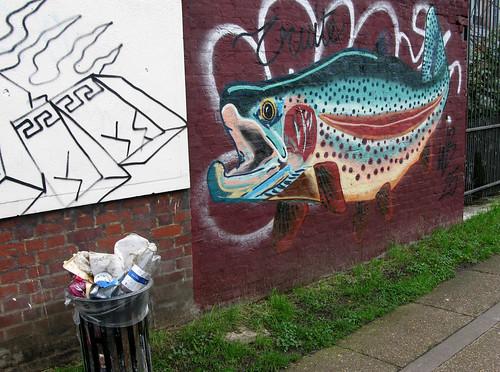 canal-side graffiti