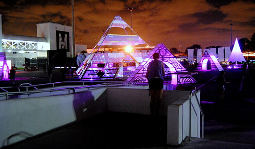 Pyramid Art Installation at Mana - iii Points Festival