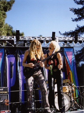 XOne Youth Stage at San Diego LGBTQ Pride Festival, 2002