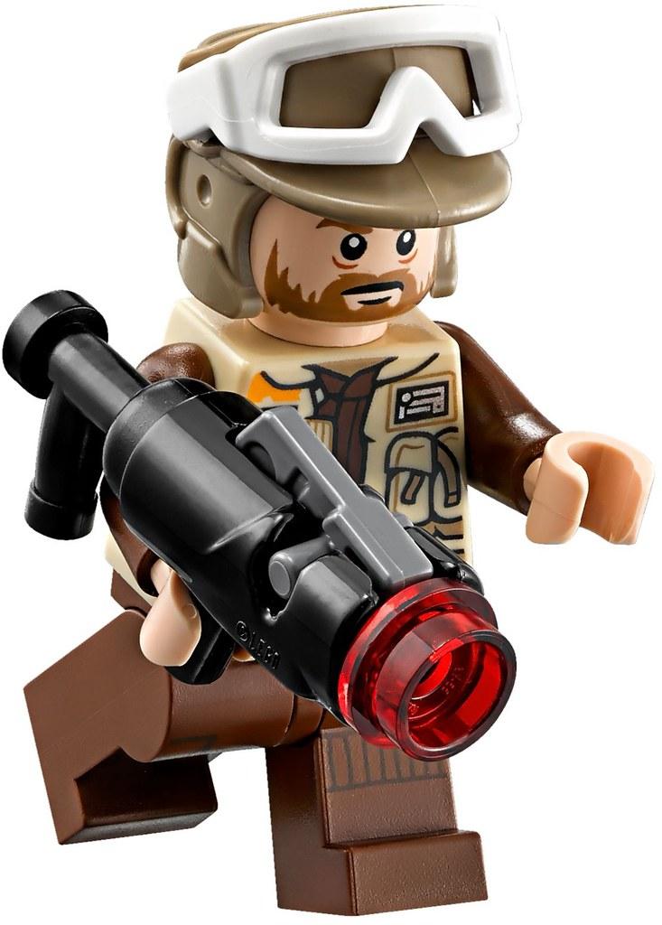 Lego Star Wars 75164 Rebel Trooper Giocovisione Flickr