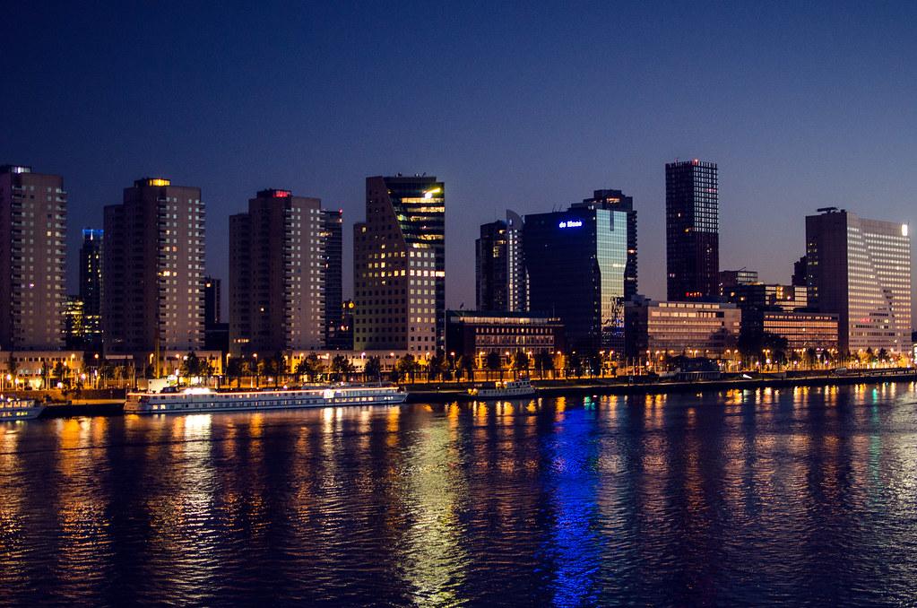 Rotterdam Skyline Domantasm Flickr