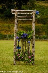 Natural Pergola Wedding Arch