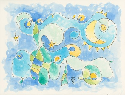 Miro's Starry Night