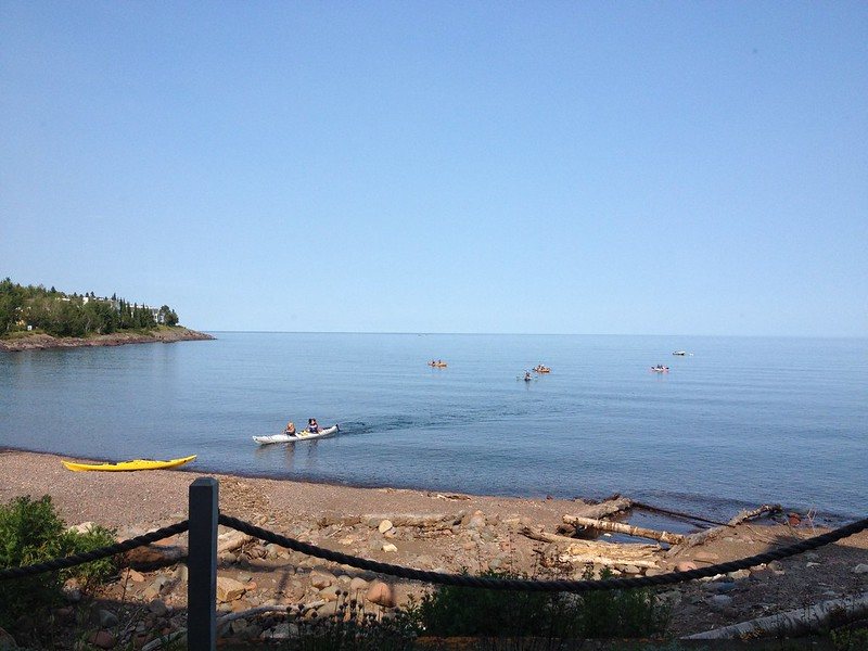 From Bluefin Bay on Lake Superior