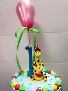 1st year birthday cake2