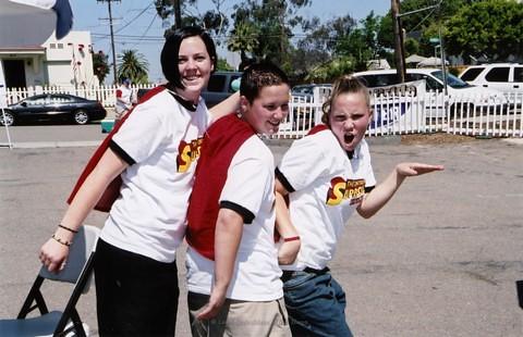 Youth Pride at San Diego LGBTQ Pride Festival, 2004